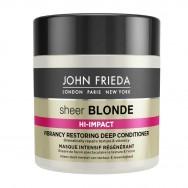 Spindesį atkurianti plaukų kaukė šviesiems plaukams John Frieda