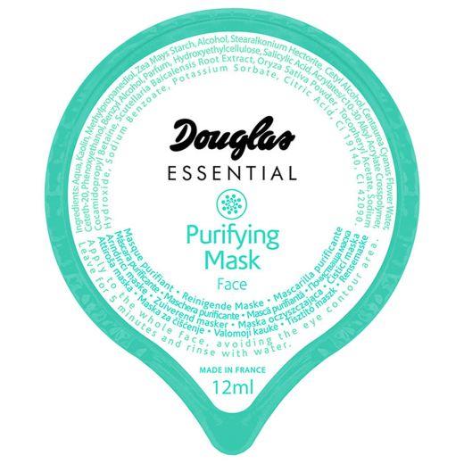 Valomoji veido kaukė su ryžiu pudra ir baltuoju moliu Douglas Essential