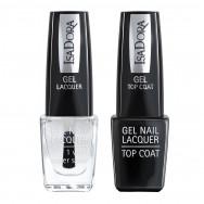 Gel Nail Lacquer + Gel Nail Top Coat