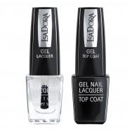 Gel Nail Lacquer + Gel Nail Top Coat