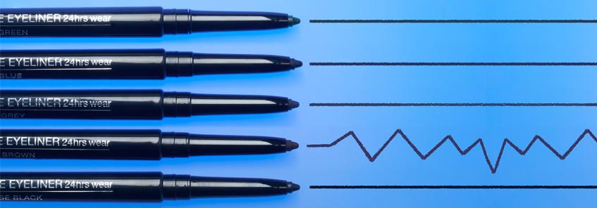 Akių pieštukai ir apvadai