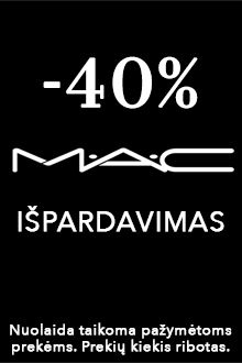-40% MAC išpardavimas