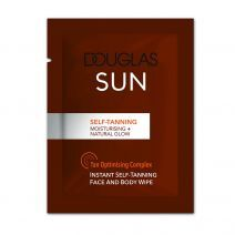 Instant Self-Tanning Face And Body Wipe