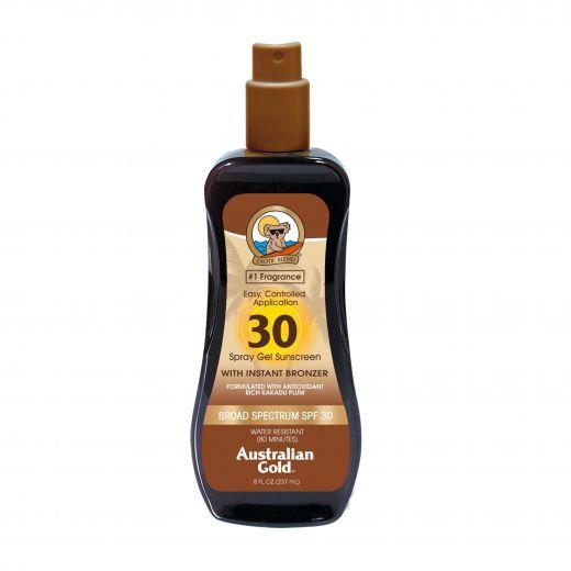 Spray Gel Sunscreen With Instant Bronzer SPF 30