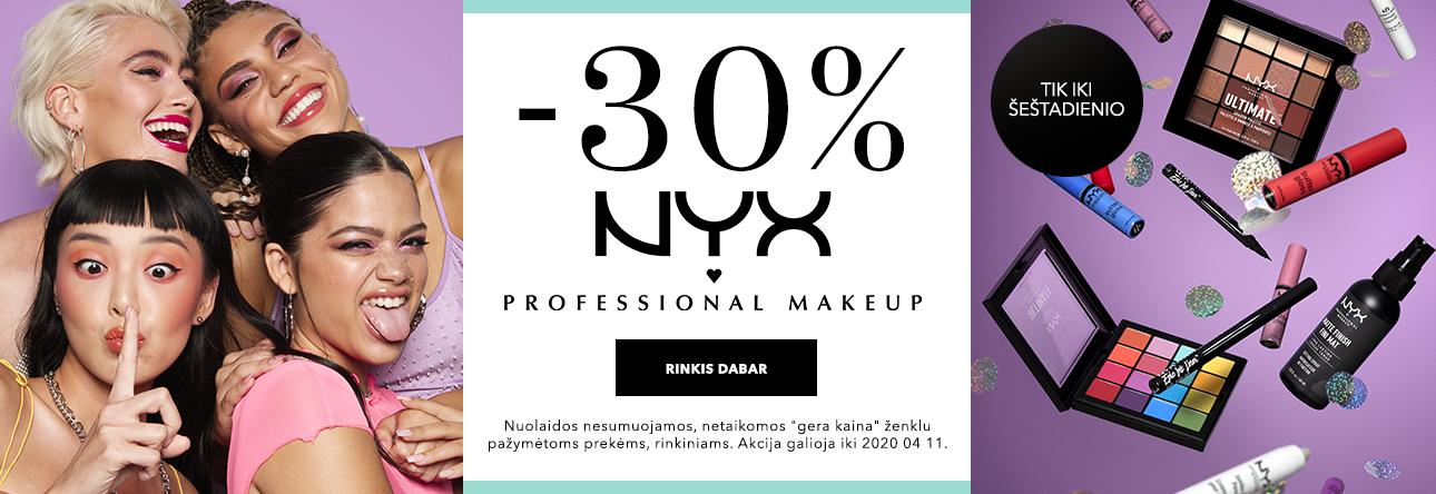 -30% NYX