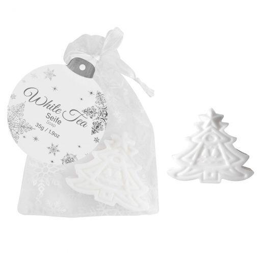 Christmas Tree White Tea Soap