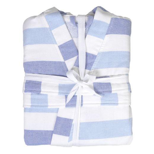 Hamam Kimono Blue Stripes S/M