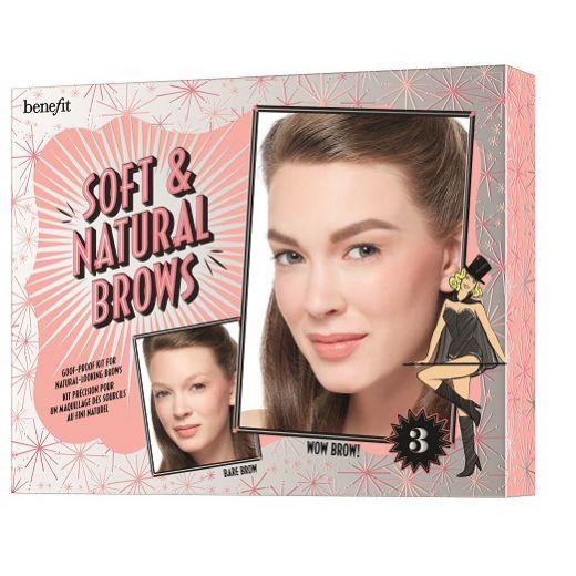 soft & natural brows kit