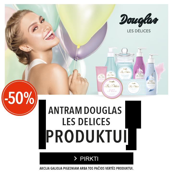 Douglas Les Delices akcija