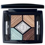Penkių spalvų akių šešėliai Dior