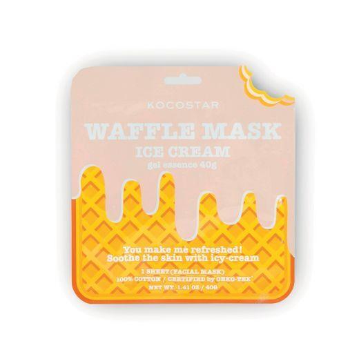 Waffle Mask Icecream