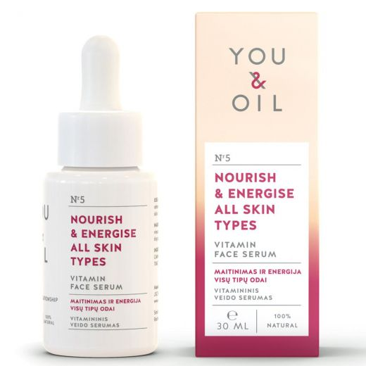 Nourish & Energise All Skins Types Vitamin Face Serum