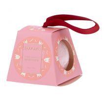 Joyful Holidays Bath Fizzer Pink
