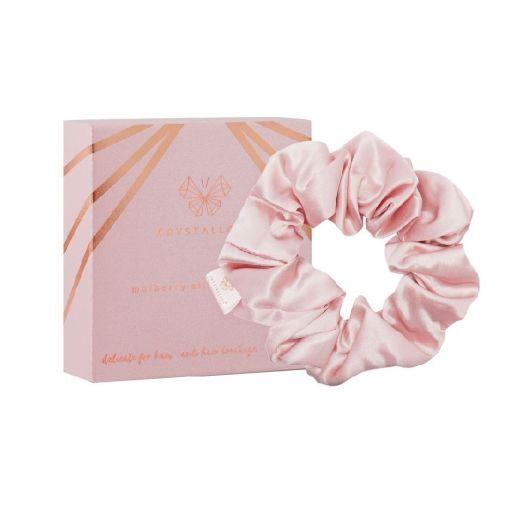 Silk Scrunchie - Rose