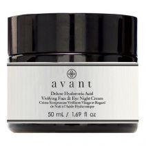 Deluxe Hyaluronic Acid Vivifying Face & Eye Night Cream
