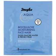 Drėkinamoji bioceliuliozės kaukė veidui Douglas Aqua Focus