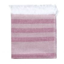 Hamam Towel Rose Stripes