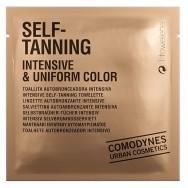 Intensyvios spalvos savaiminio įdegio servetėlė Comodynes