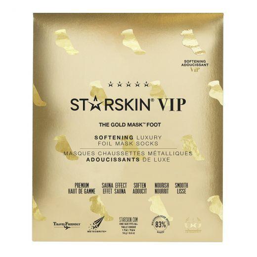 The Gold Mask™ Foot Softening Luxury Foil Mask Socks
