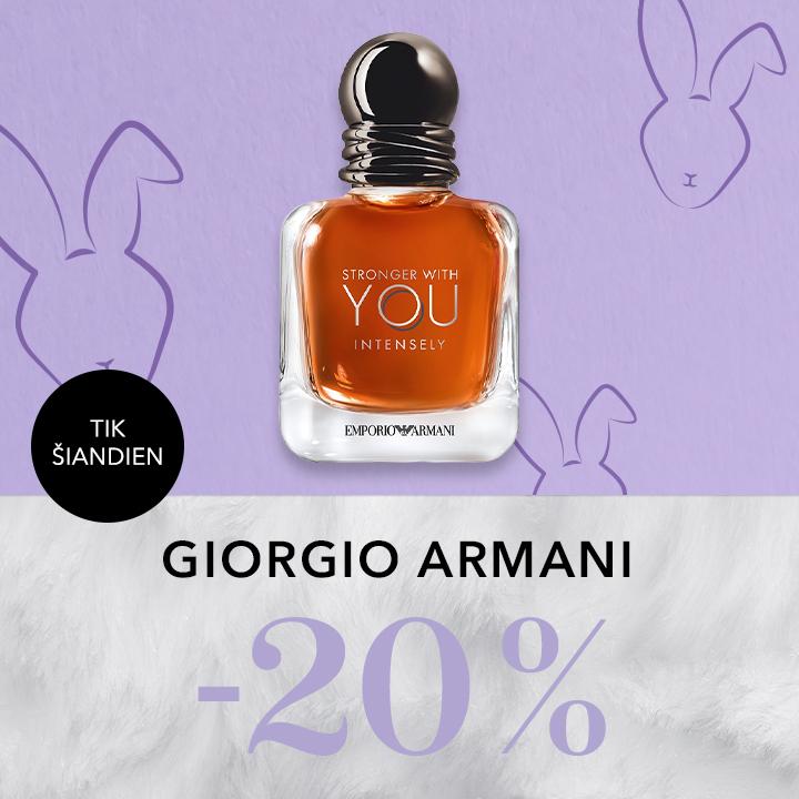 -20% GIORGIO ARMANI