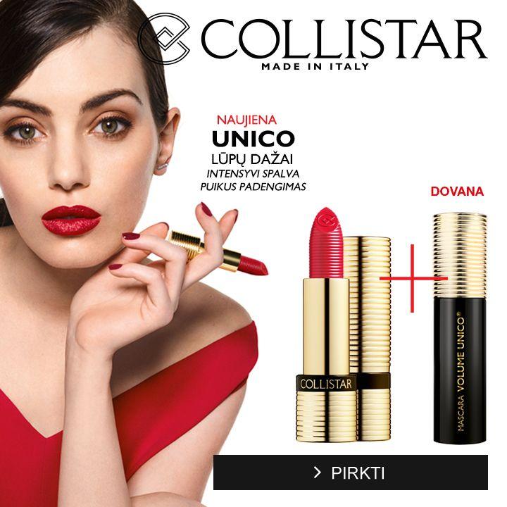 Collistar Unico lūpų dažai