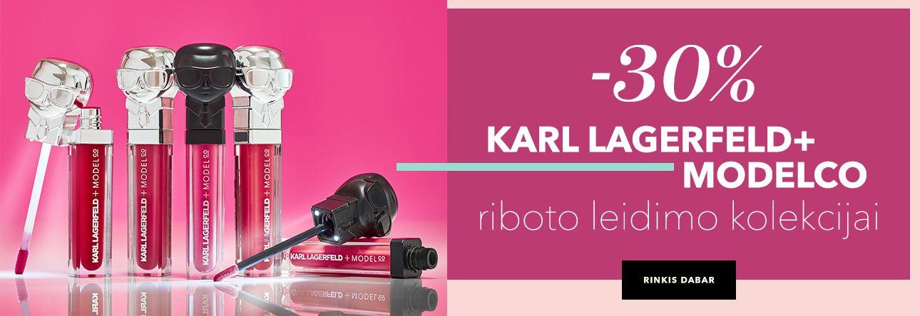 -30% KARL LAGERFELD+ MODELCO