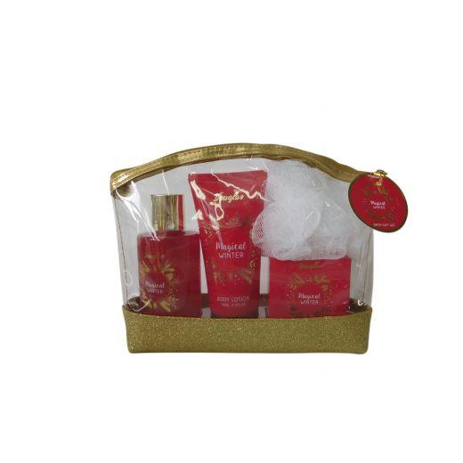 Magical Winter Bath Gift Bag Set