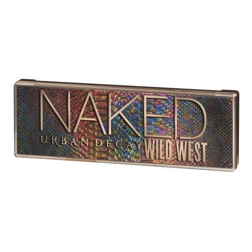 Naked Wild West paletė akims