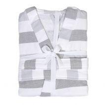 Hamam Kimono Grey Stripes L/XL