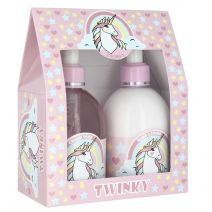 Twinkly The Unicorn Cream Soap & Hand Lotion Set