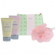 Spring Time Collection Bath Set Bag