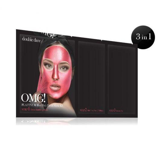 Platinum Pink Facial Mask Kit