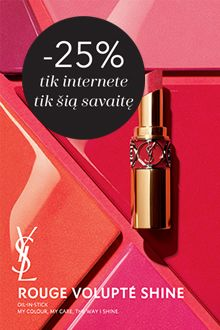 -25% YVES SAINT LAURENT tik internete