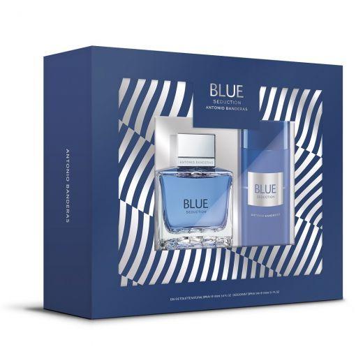 Blue Seduction EDT 100ml Set