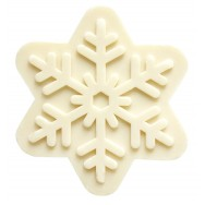 Christmas Snow Flake Soap