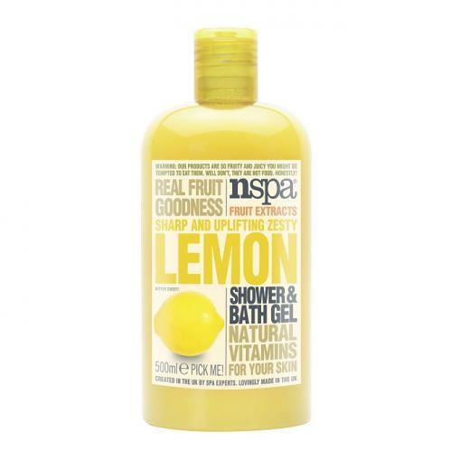 Lemon Shower Bath Gel