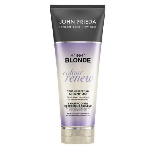 Nepageidaujamą gelsvą atspalvį neutralizuojantis šampūnas John Frieda