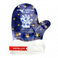 Winter Love Finger Gloves Hand Mask Lavender and Cornflower Extract