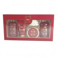 Magical Winter 5 Pieces Bath Set