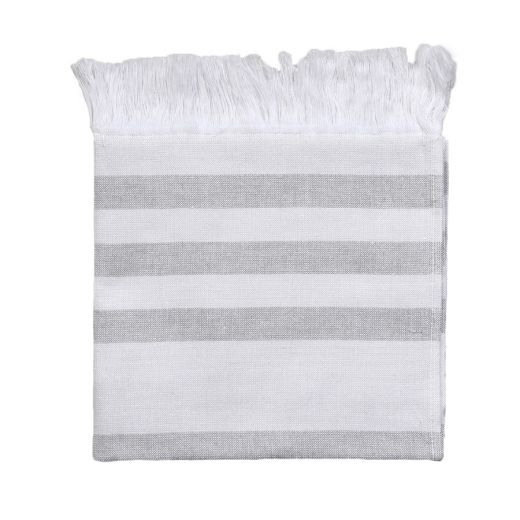 Hamam Towel Grey Stripes