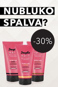 -30% DOUGLAS dažomosioms kaukėms
