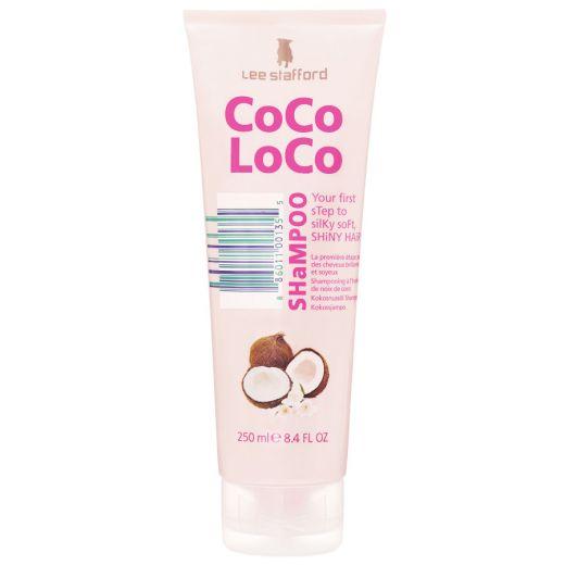 Drėkinantis šampūnas su kokosų aliejumi Lee Stafford