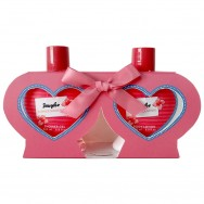 Summer Souvenirs Gift Set Heart  Kūno priežiūros rinkinys