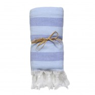 Hamam Towel Blue Stripes