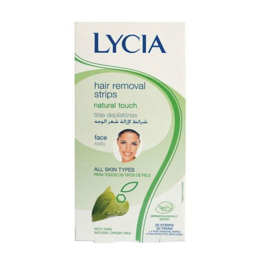Natural Touch Hair Removal Strips For Face