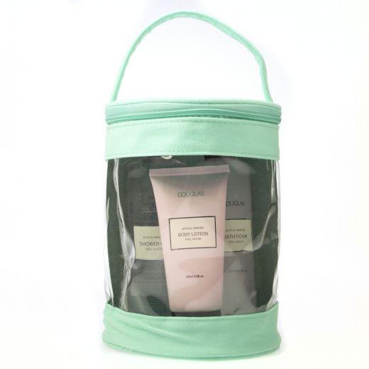 Joyful Winter Rounded Bag Body Care Set