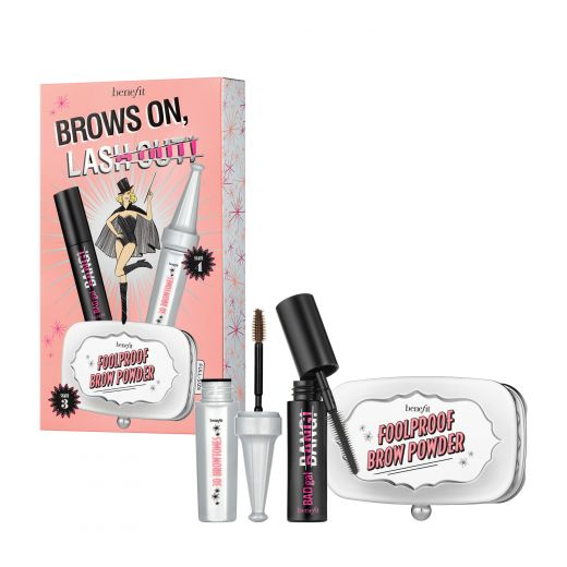 brows on, lash out!