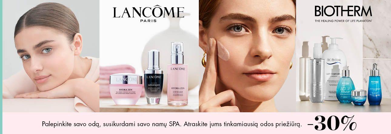 -30% LANCOME IR BIOTHERM odos produktams