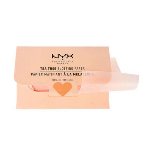 Sugeriamasis veido popierius su arbatmedžiu NYX PROFESSIONAL MAKEUP