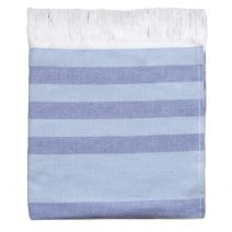 Hamam Towel Blue Stripes